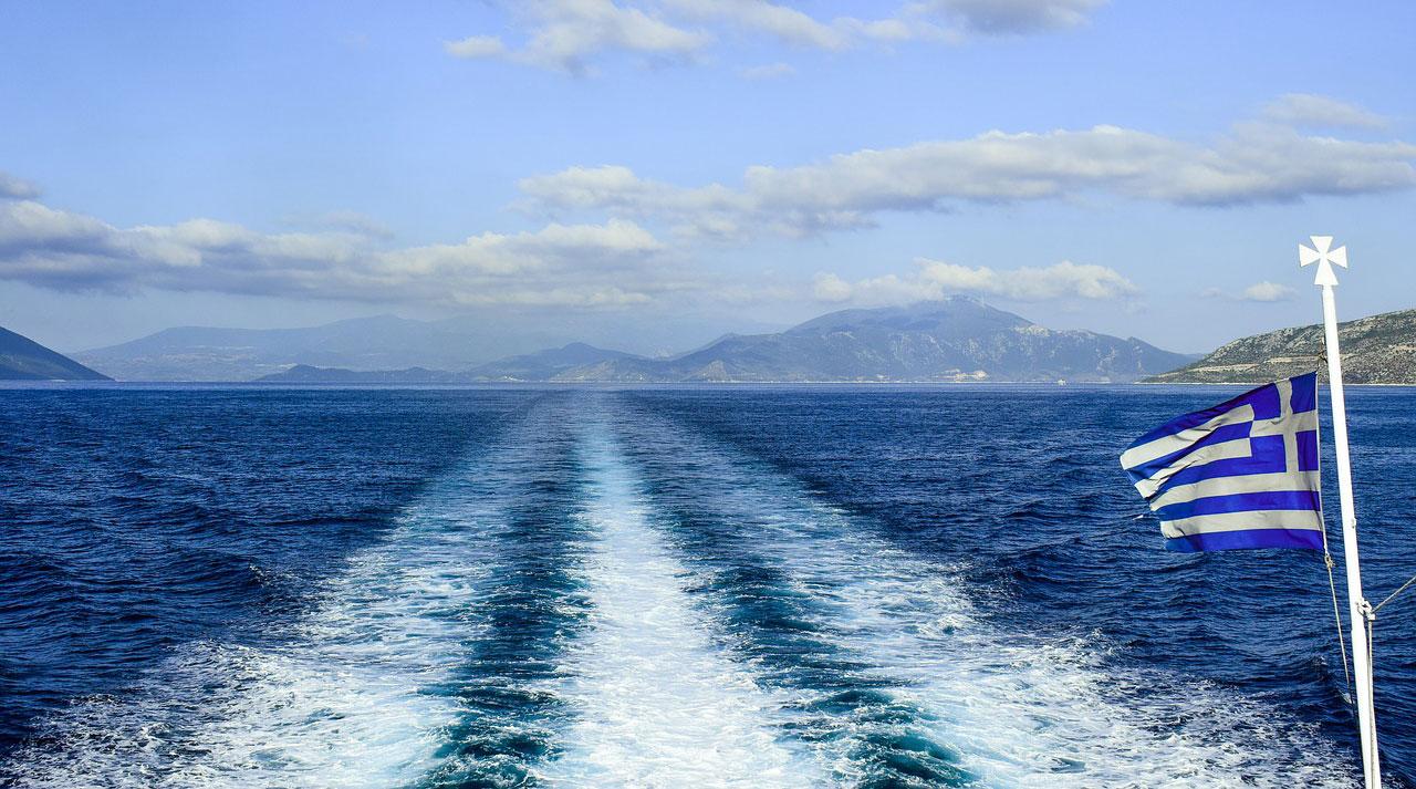 Traghetto per la Grecia