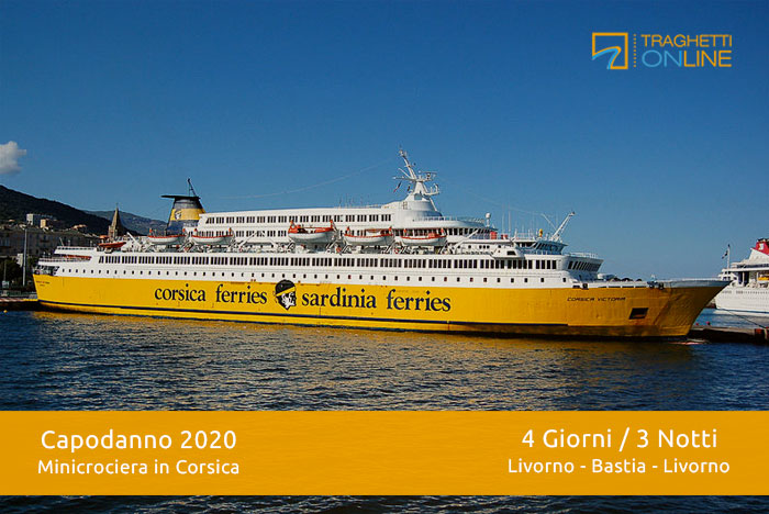 Minicrociera di Capodanno a Corsica - Traghettionline