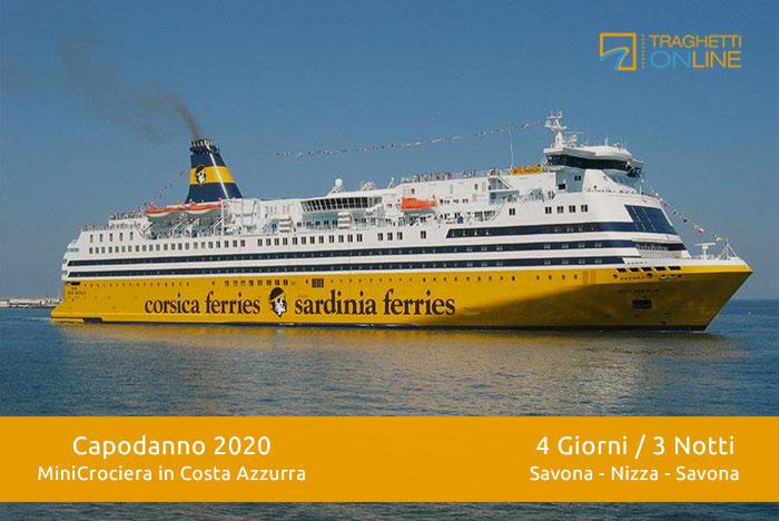 Minicrociera di Capodanno 2020 in Costa Azzurra – Prenota con Traghettionline