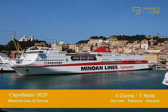 Prenota minicrociera di Capodanno 2020 in Grecia